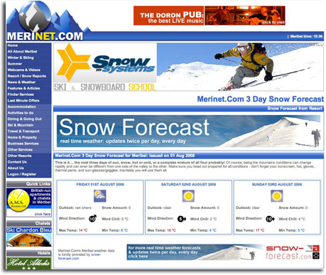 weather feed example