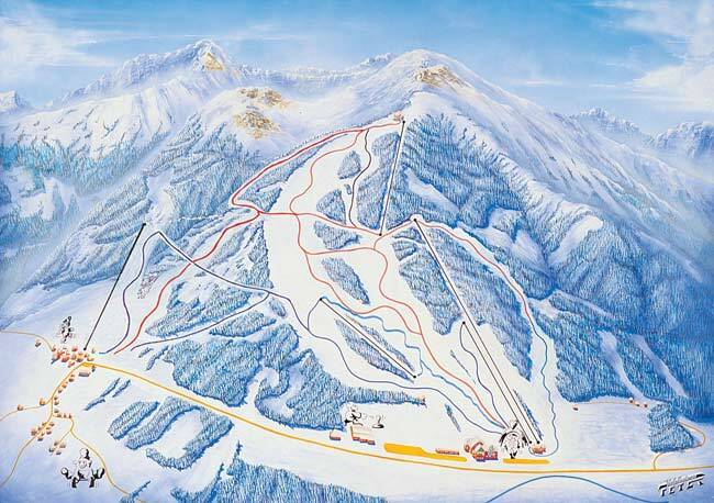Hohentauern Piste / Trail Map