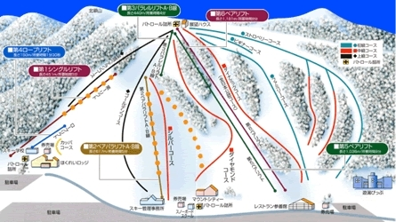 Pippu Piste / Trail Map