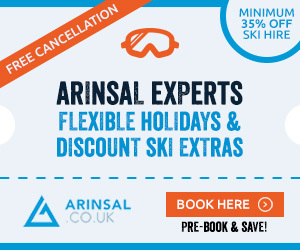Ski Extras & Airport Transfers for Arinsal