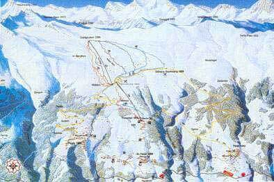 St. Peter - Pagig Piste / Trail Map